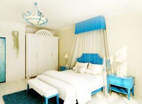 80平方房屋裝修圖 雙人床裝修效果圖片