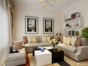 80平方米二手房裝修 小客廳沙發