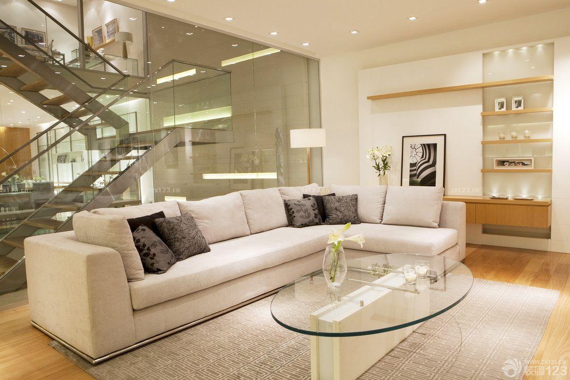 小户型80平米复式楼装修设计效果图图片
