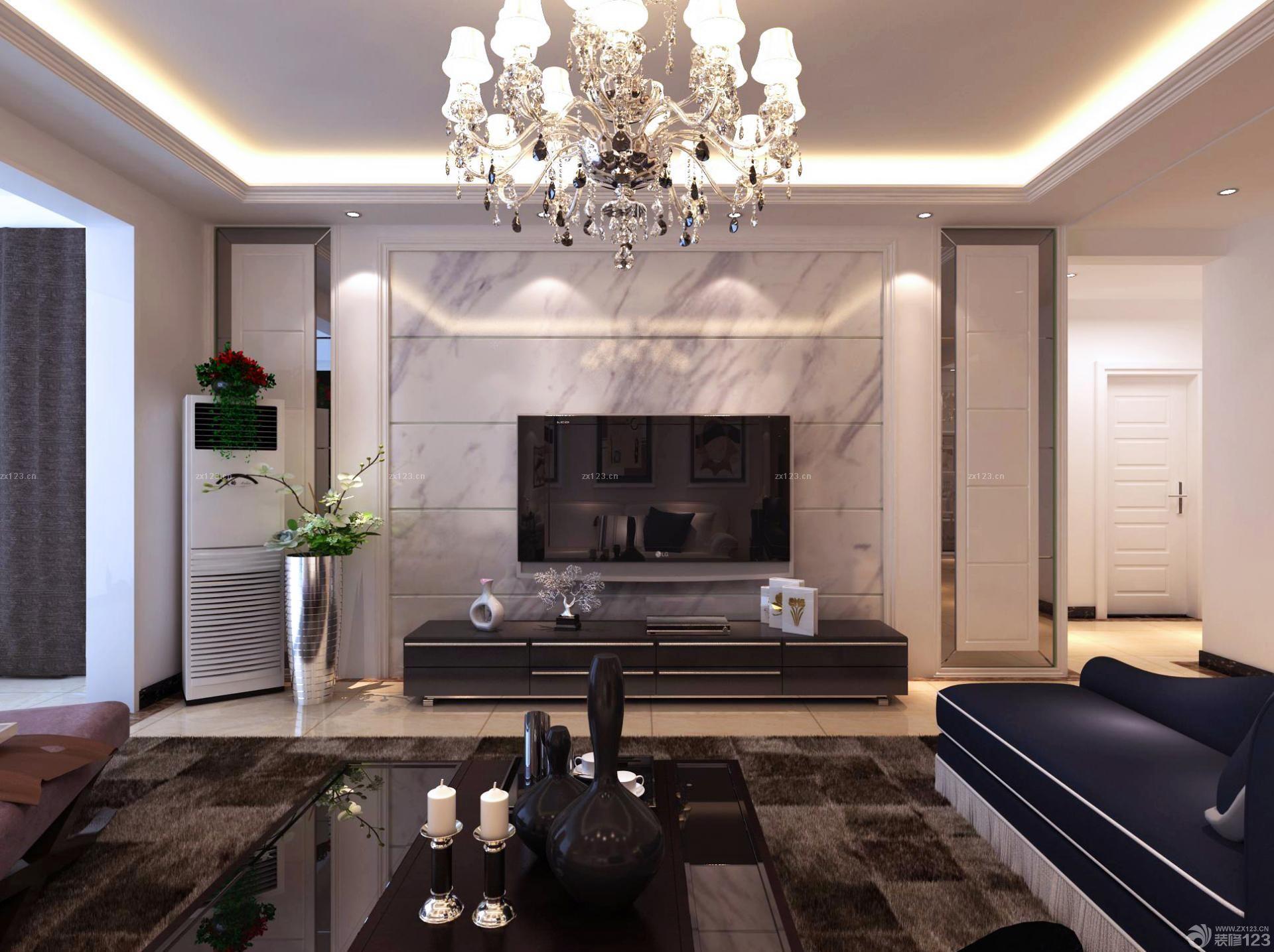 室内大理石地板砖装修效果图小户型