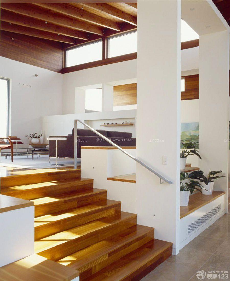 错层房屋台阶装修效果图片