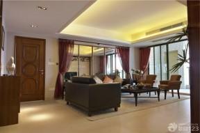 80平米裝修案例 客廳裝修圖片
