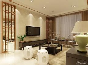 80平方三居室裝修效果圖 臺燈裝修效果圖片