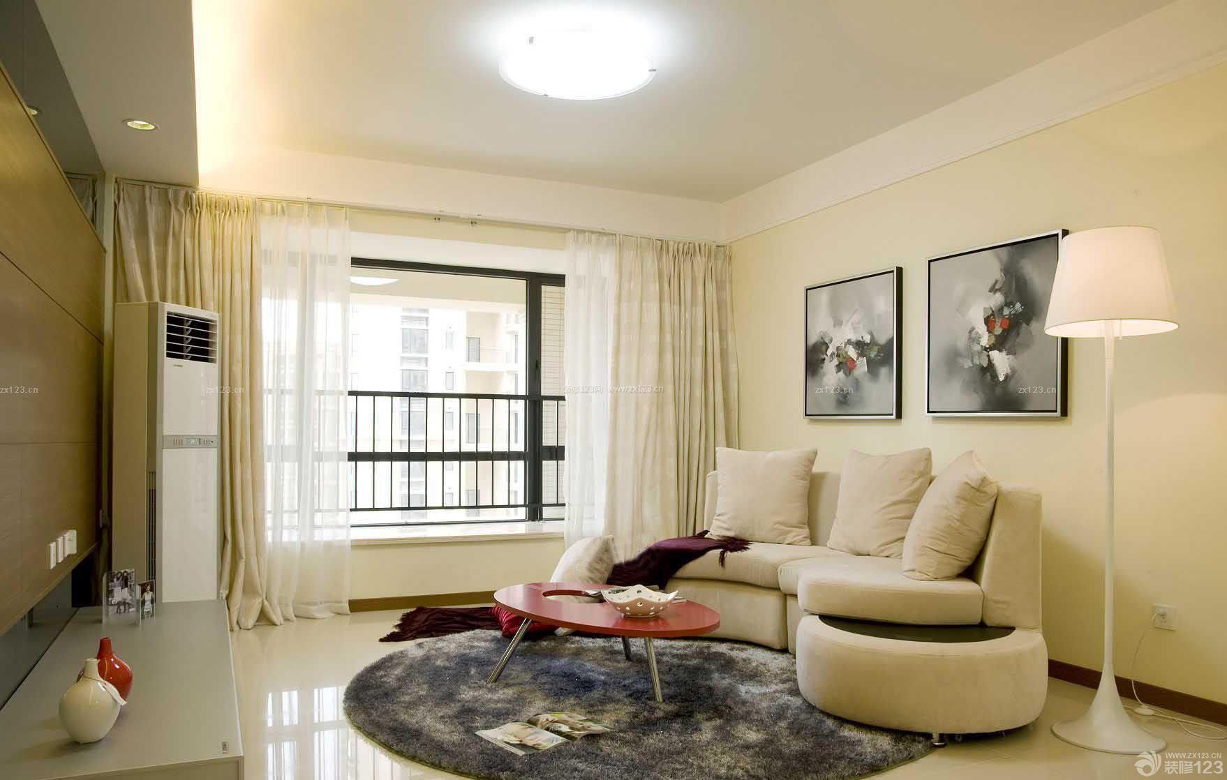 40-50平方小户型家庭客厅装修效果图片