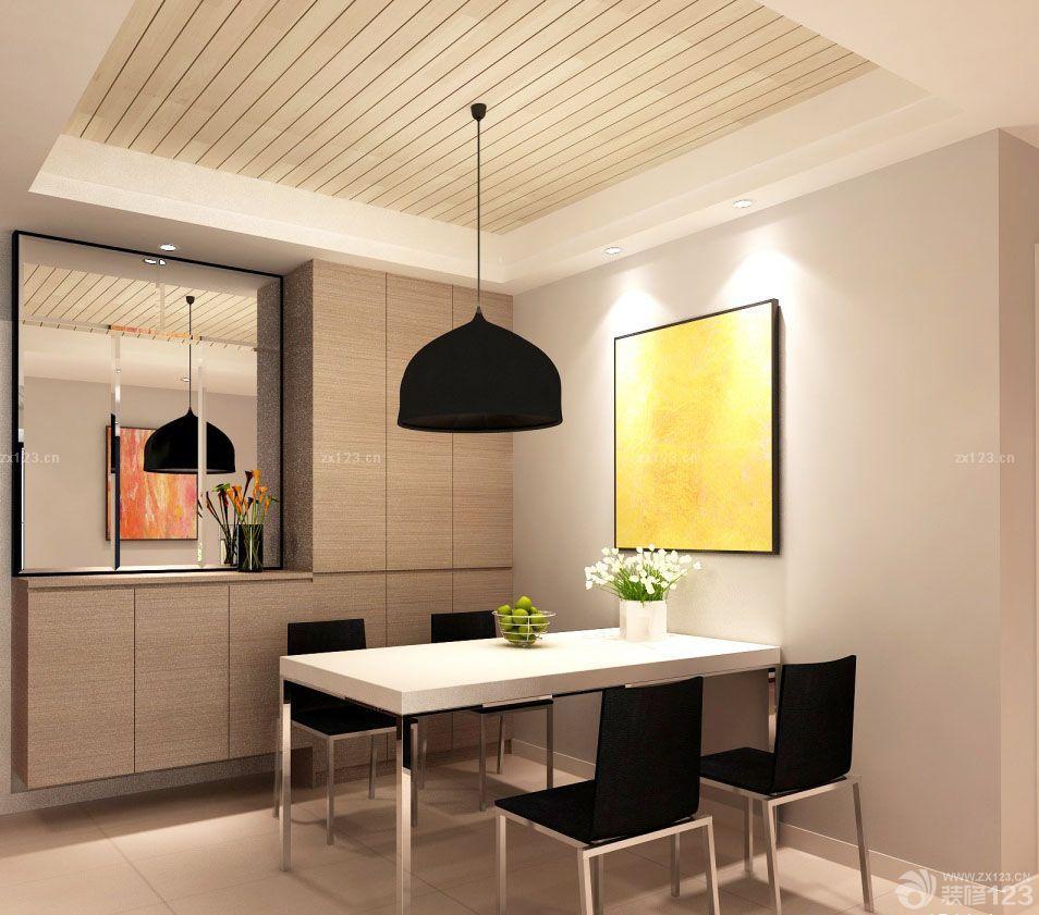 90平米三房两厅餐厅玻璃背景墙装修效果图片欣赏
