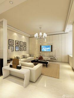3万90平米房屋客厅背景墙装修效果图