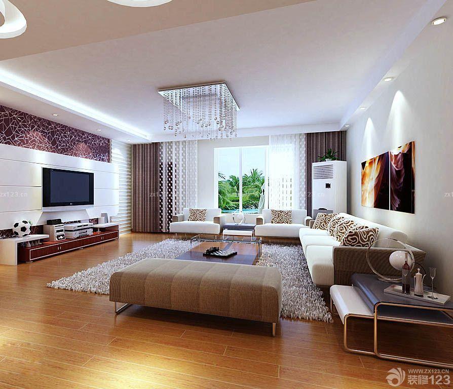 90平房屋现代装修风格效果图片