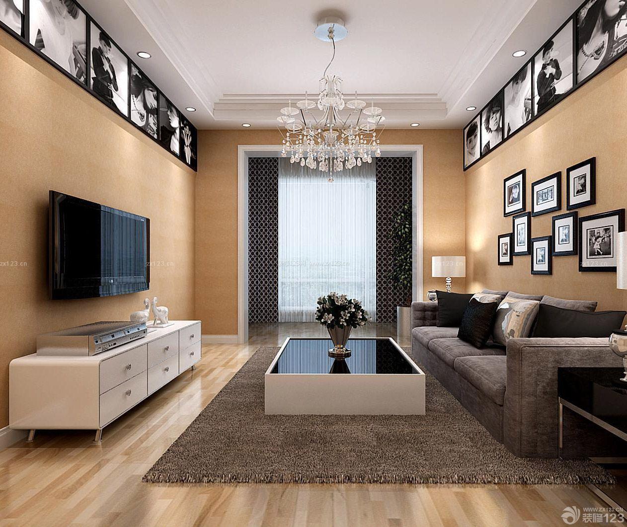 现代风格家装90平米两室两厅房子装修方案