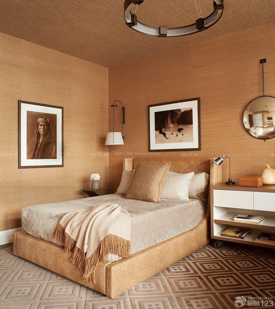 创意小复式房子卧室设计装修效果图