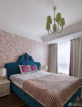 90平米兩室兩廳裝修方案 臥室壁紙