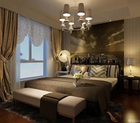 90平米兩室兩廳裝修方案 臥室配畫