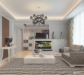 90平米兩室兩廳裝修方案 現代設計