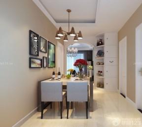 90平米兩室兩廳裝修方案 餐廳裝修