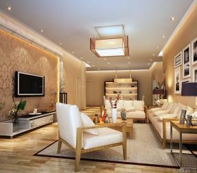 90平3房裝修 客廳裝修效果圖2015