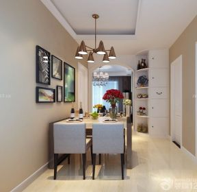 90平米兩室兩廳餐廳裝修方案-每日推薦