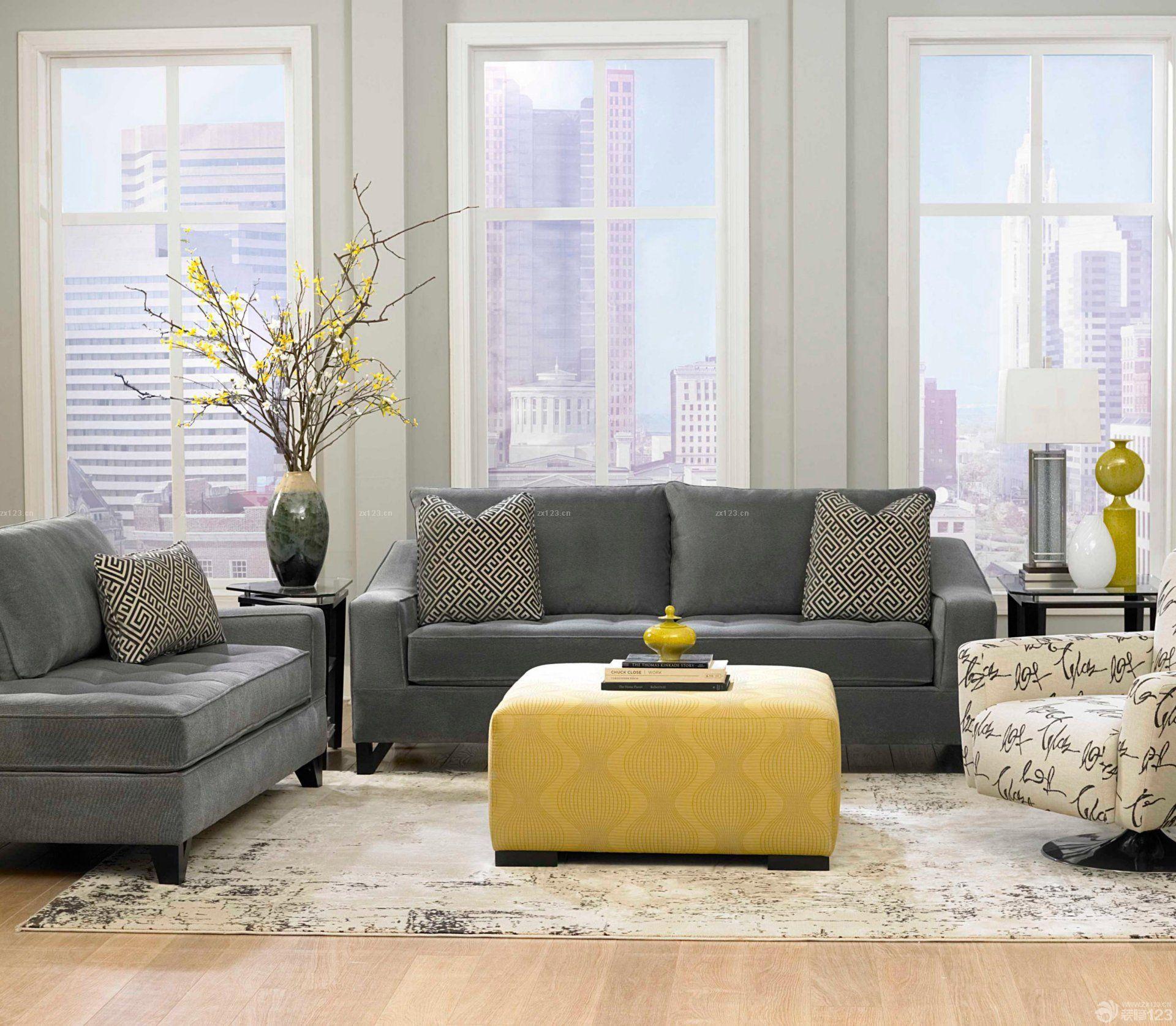 90平标准户型客厅窗户装修效果图