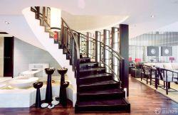 高檔別墅室內旋轉樓梯設計圖
