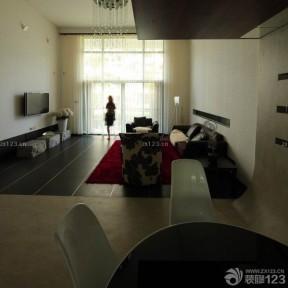 現代簡約客廳裝修 70平米裝修樣板房