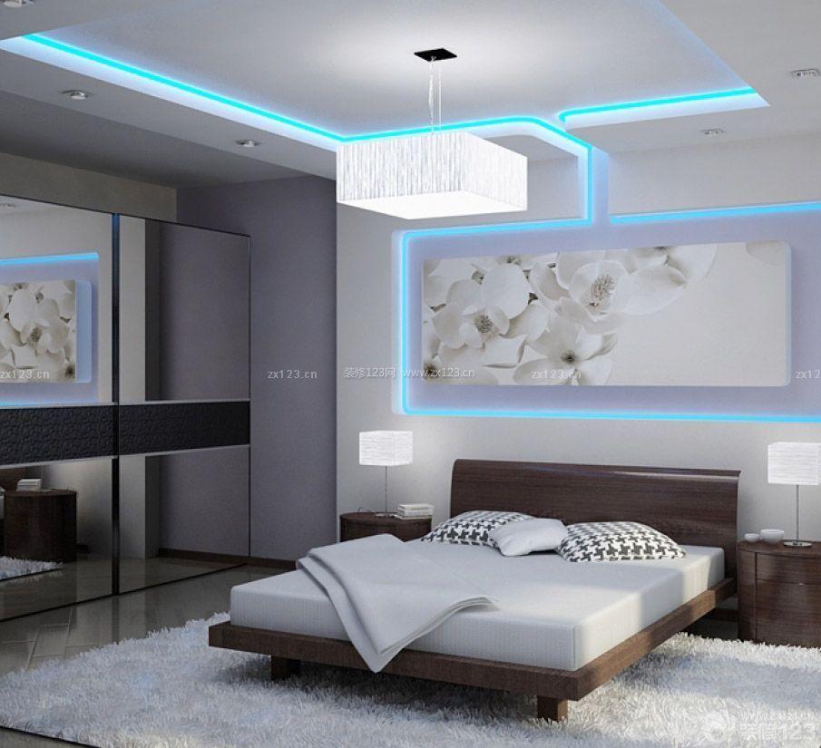 现代时尚90平米3居室房屋装修效果图
