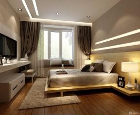 90平米3居室房屋裝修效果圖 主臥室裝修