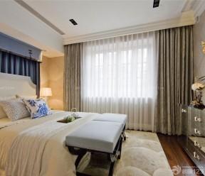 90平米3居室房屋裝修效果圖 床尾凳裝修效果圖片