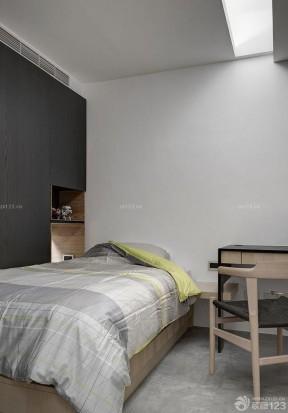 90平米3居室房屋裝修效果圖 現代簡約臥室