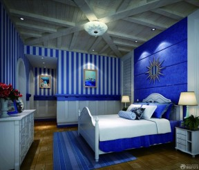 90平米3居室房屋裝修效果圖 地中海風格臥室