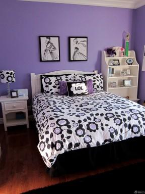 90平米3居室房屋裝修效果圖 純色壁紙裝修效果圖片