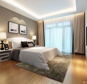 90平米3居室房屋現代臥室裝修效果圖-每日推薦