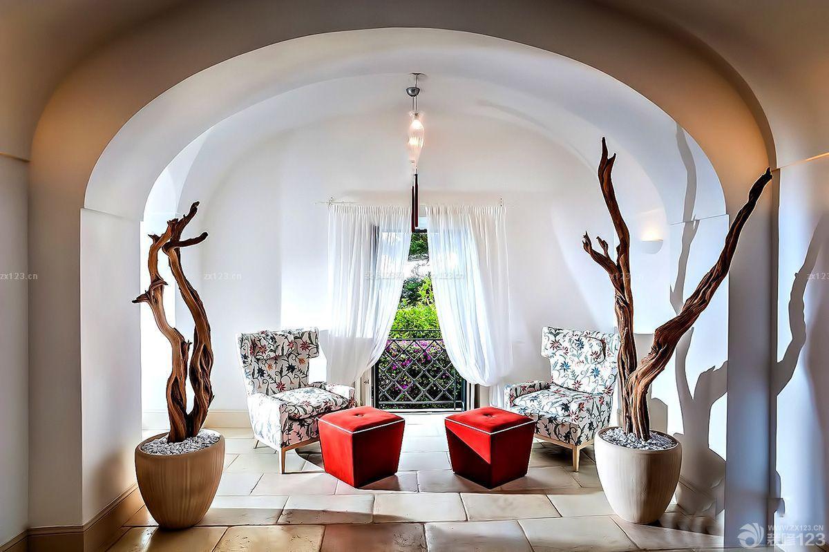 别墅门洞造型图片设计装修家庭别墅3d图片
