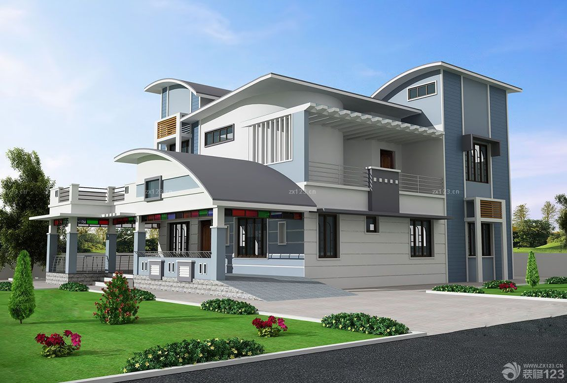 E5 86 9C E6 9D 91 E7 AE 80 E5 8D 95 E9 98 B3 E5 8F B0 E5 A4 96 E8 A7 82 E5 9B BE on modern contemporary house plans 3d