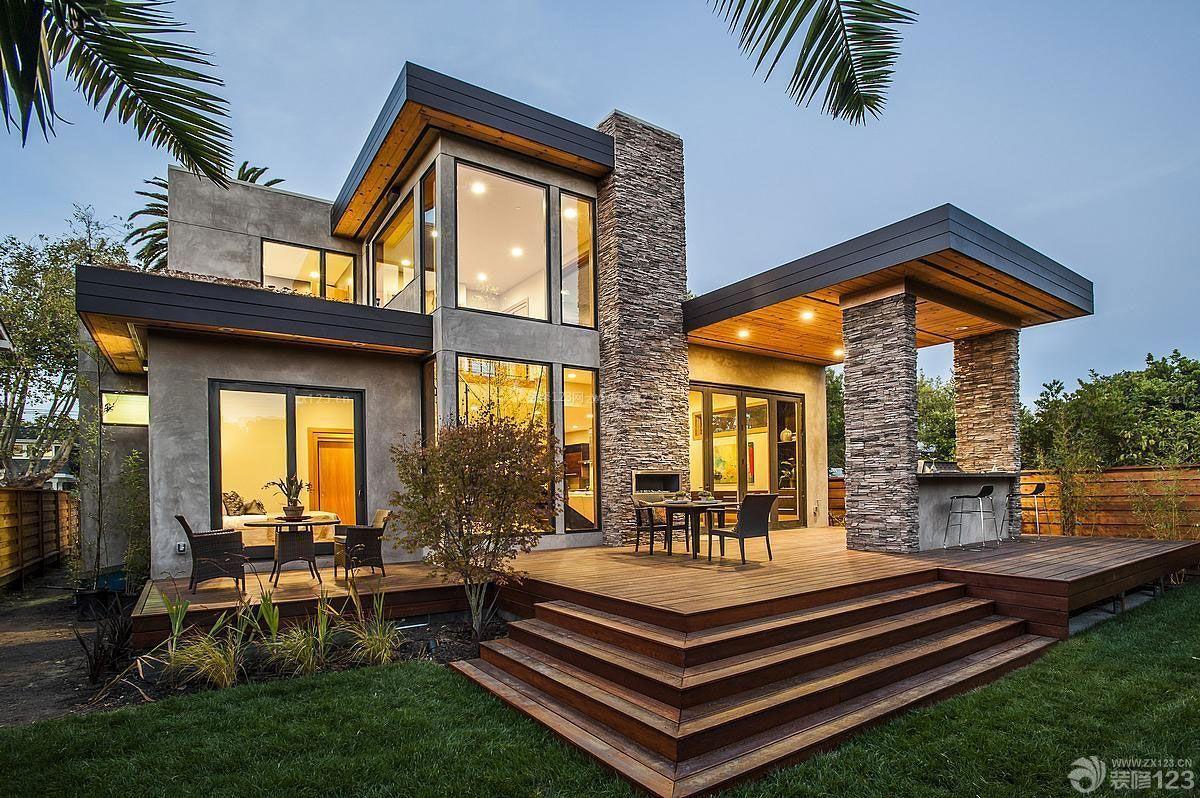 农村400平别墅设计图-10万农村钢结构房图片/400平米别墅设计图/占地