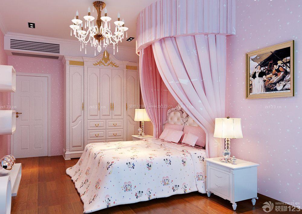 经济型别墅女生卧室装修效果图