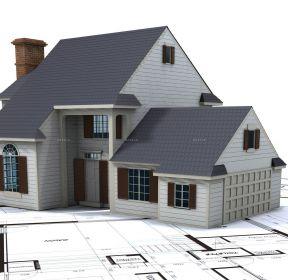 農村二層木屋別墅建造設計圖-每日推薦