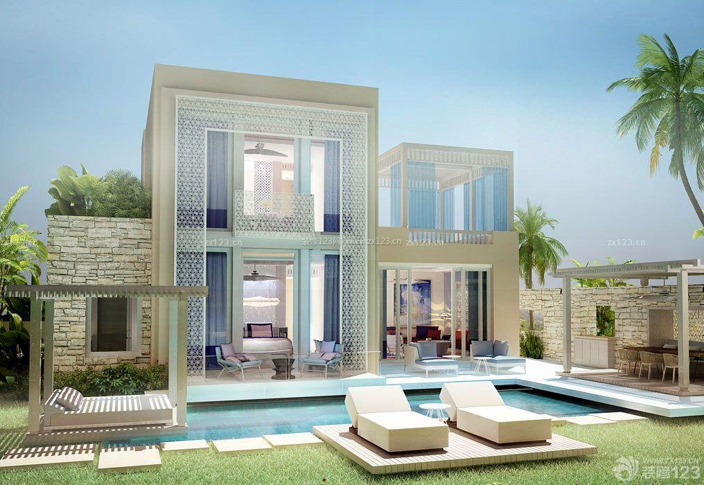 最新高端别墅外观装修设计图片