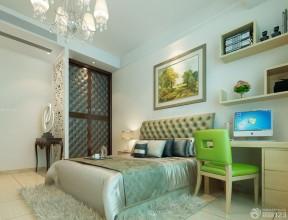 小型別墅圖片 臥室床頭裝飾畫