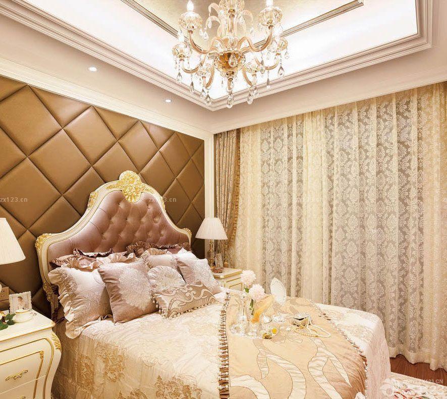 家装欧式风格90小户型小客厅装修效果图片图片