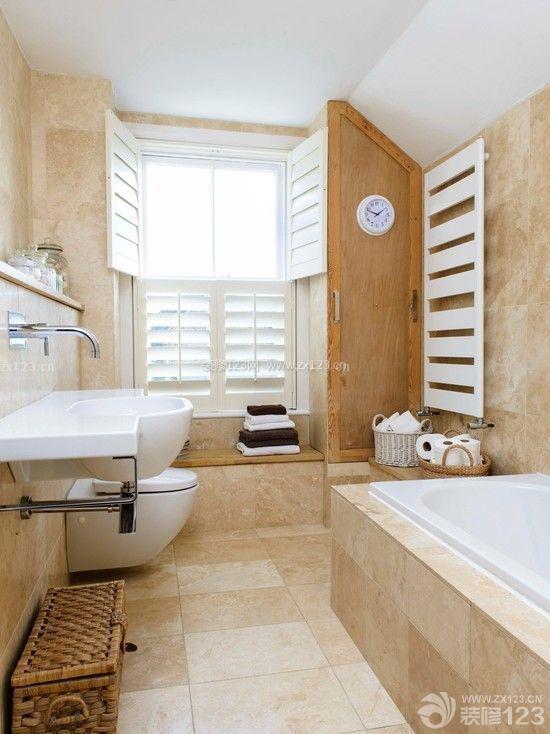 家装90平小户型卫生间浴室装修效果图