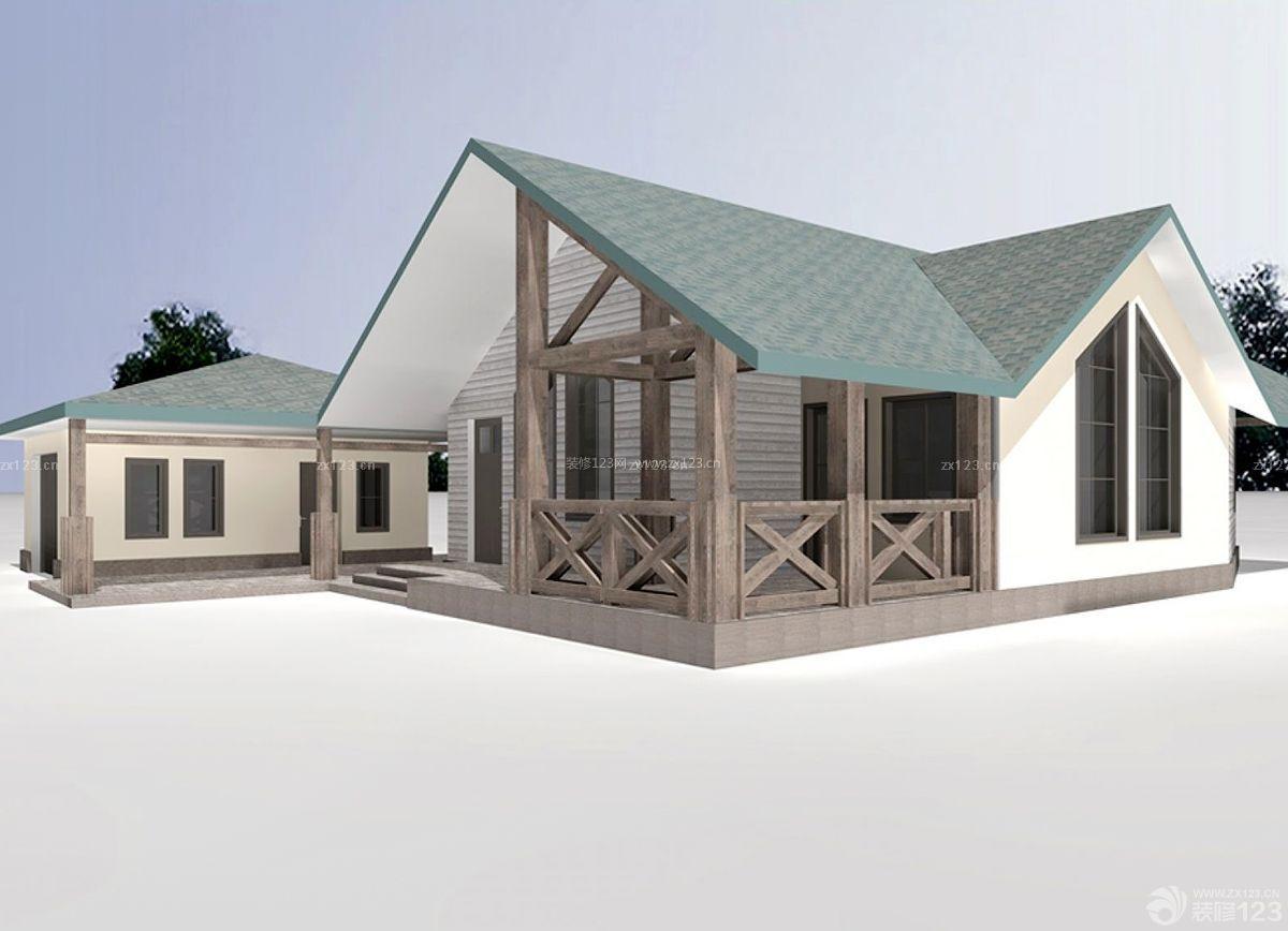 图纸休闲木屋方案设计别墅_装修123效果图模具设计激励乡村图片