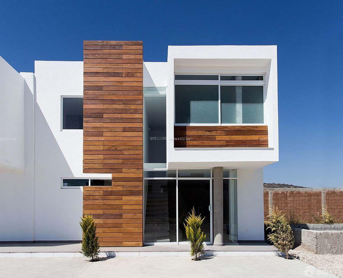 农村三层现代别墅外观设计图片