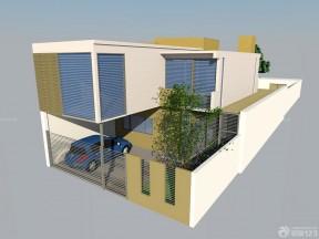 鄉村別墅設計圖紙 庭院圍墻設計效果圖