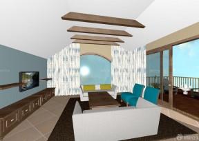 鄉村別墅設計圖紙 別墅客廳設計