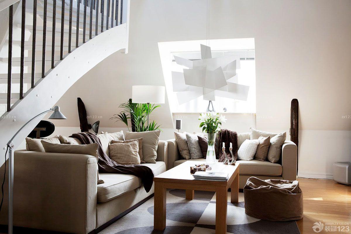 欧式风格小户型复式楼装修效果图大全2015图片欣赏图片