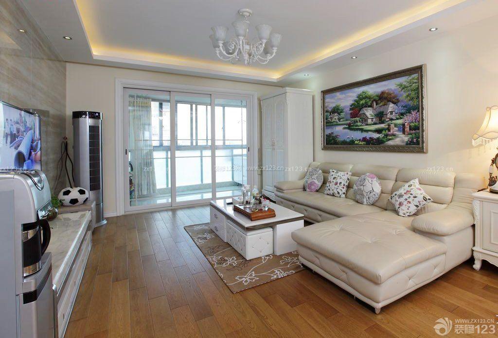 中式风格家装客厅沙发背景墙挂画装修效果图片图片