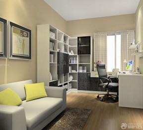 90平兩室兩廳簡約裝修 書房裝修圖