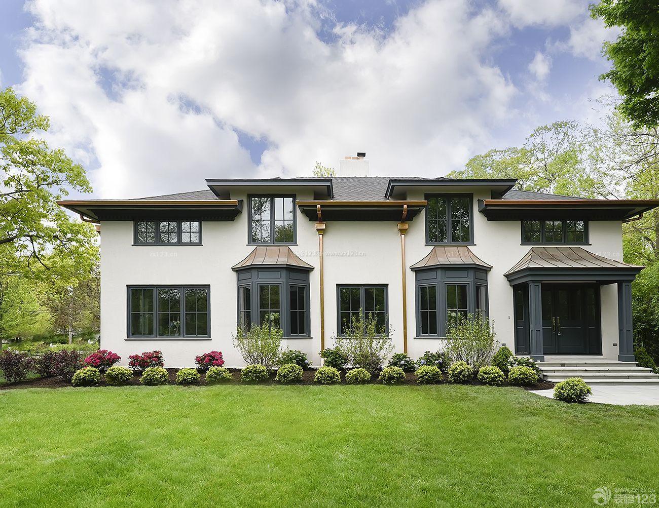 美式古典风格小型别墅室外有什么可以免费领红包图