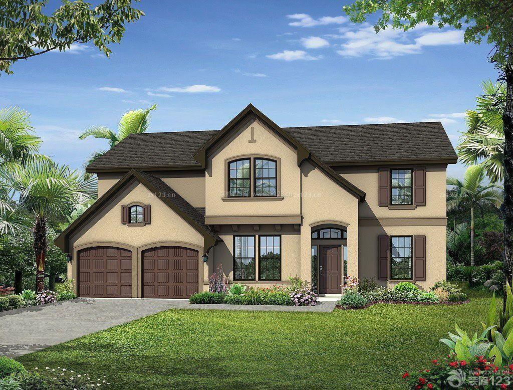 农村房子样式图-农村房子两层样式图_房子样式风格_二图片