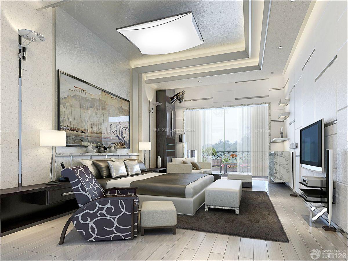 精美农村两层别墅卧室吸顶灯设计图