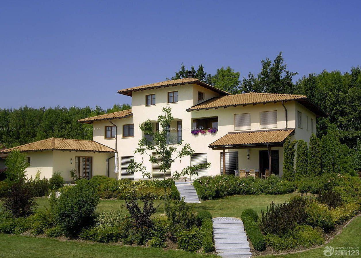 农村别墅房子中式装修风格图片