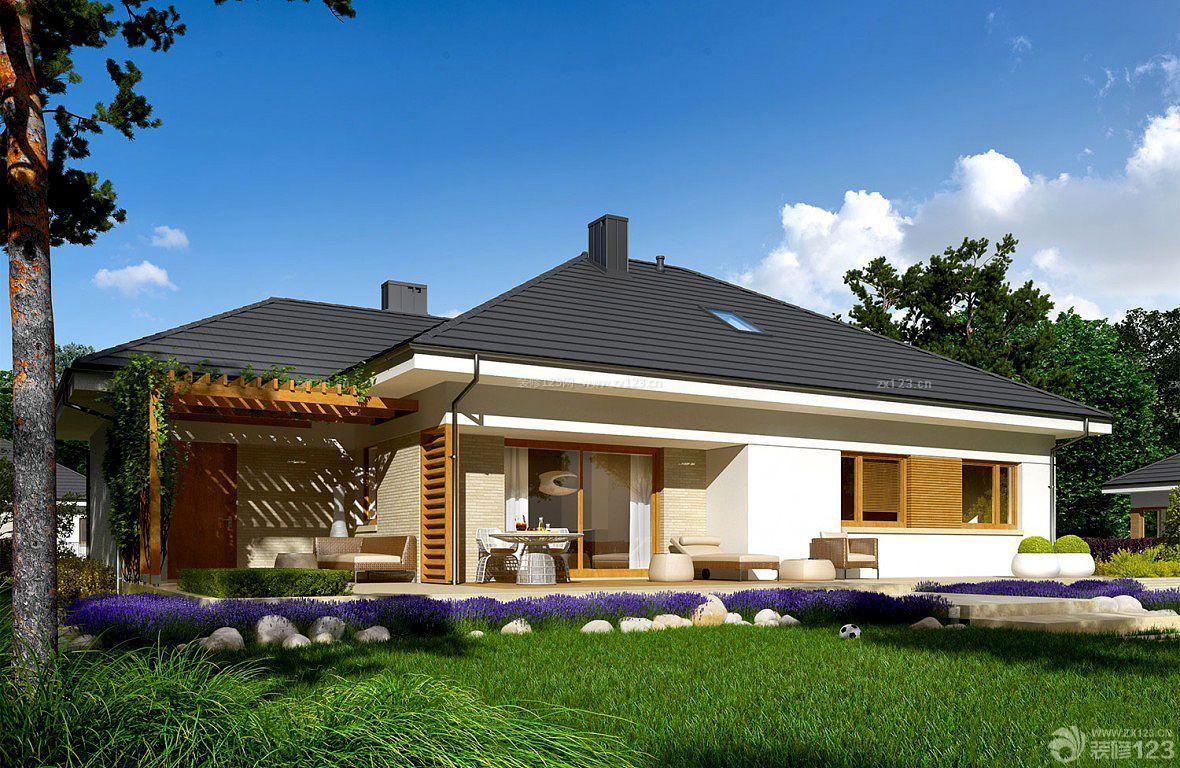 农村家庭别墅房子外观装修图